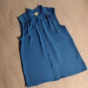 J Crew sleeveless blouse